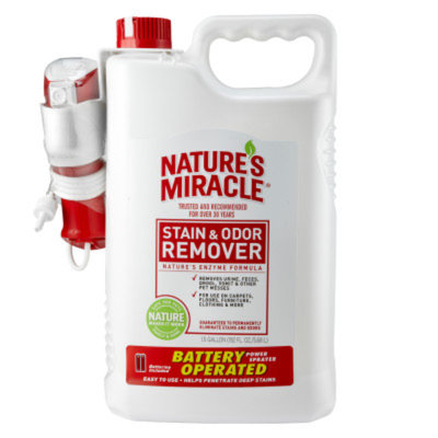 Nature's Miracle® Dog Stain & Odor Remover with Power Sprayer