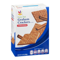 Ahold Low Fat Graham Crackers Cinnamon