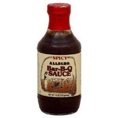 Allegro Spicy Bar-B-Q Sauce (18 oz.)