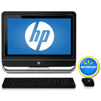 Hewlett Packard HP Refurbished Black Pavilion 20-b323w All-in-One Desktop PC with AMD E1-1500 Accelerated Processor, 4GB Memory, 20