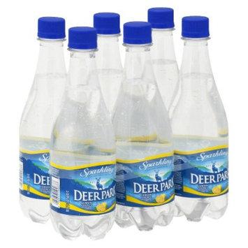 Deer Park Lemon Sparkling Water 16.9 oz, 6 pk
