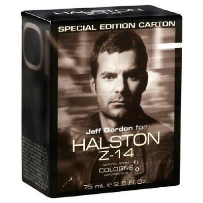 Halston Special Edition Jeff Gordon Z-14 Natural Spray Cologne For Men
