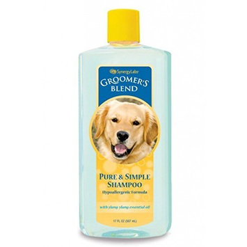 SynergyLabs Groomer's Blend Pure and Simple Shampoo; 18.4 fl. oz.