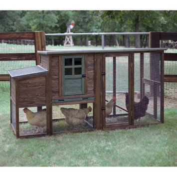 Precision Pet Products Precision Pet Brown Hen House II Chicken Coop
