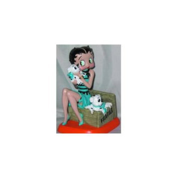 Precious Kids 35005 4. 5 Betty Boop Resin Figure with pudgies