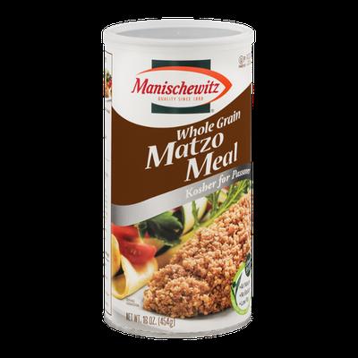 Manischewitz Whole Grain Matzo Meal