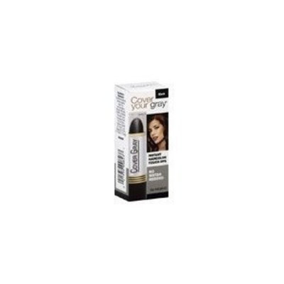 Cover Your Gray, Irene Gari Cosmetics Instant Haircolor Touch-ups, Black ( No Water Needed )