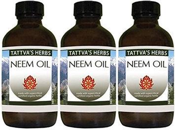 Neem Oil 100% Pure Tattva's Herbs LLC. 2 oz Oil