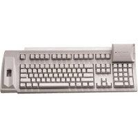 Keytronic F-SCAN-KSC01US Keyboard - PS/2 - 104 Keys - Beige