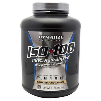 Dymatize Iso-100 Cookies and Cream - 5 lb (2275 g)