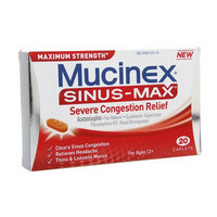 Mucinex Sinus-Max Severe Congestion Relief Caplets
