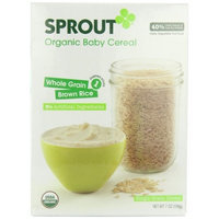 Sprout Whole Grain Cereal, Rice, 7 Ounce