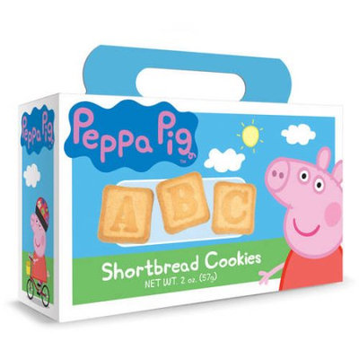Peppa Pig ABC Shortbread Cookies, 2 oz