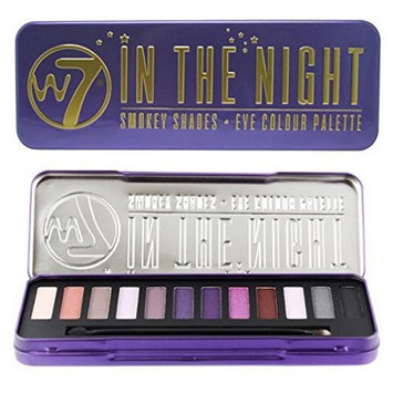 W7 Natural Naked Eye Colour Palette In The Nights W7 In The Nights