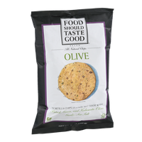 Food Should Taste Good Olive Tortilla Chips