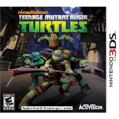 Activision Teenage Mutant Ninja Turtles (Nintendo 3DS)