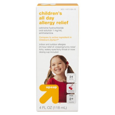 up & up Children's All Day Allergy Relief