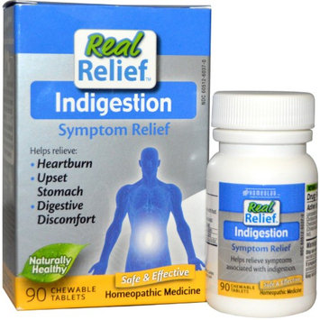 Homeolab USA - Real Relief Indigestion - 90 Chewable Tablets