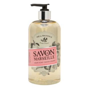 Pre de Provence Savon De Marseille Liquid Soap, Grapefruit Fig, 16.9 oz