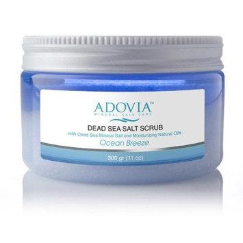 Adovia Dead Sea Salt Body Scrub, 11 oz.