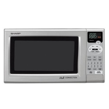 Sharp Silver 0.9-cu.-ft. Microwave Oven - R-820JS
