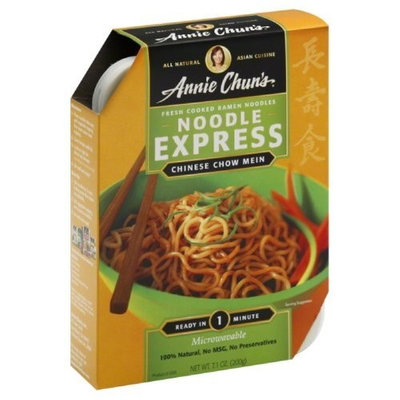 Annie Chun's Chinese Chow Mein Noodle Express, 7.1-Ounce Bowls (Pack of 6)