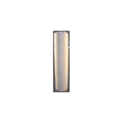 Pentek Refrigerator Accessories WPX100BB20P Fibrillated Polypropylene Water Filter PENTEK-WPX100BB20P