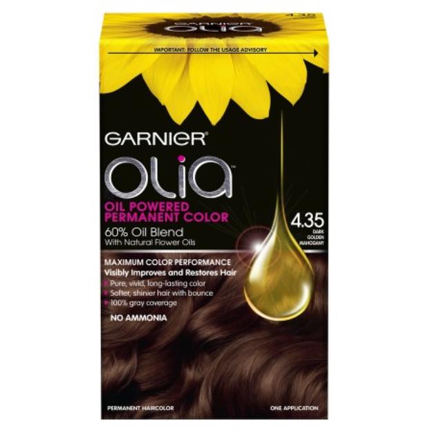 Garnier Olia Garnier Dark Brown Hair Coloring Hair Color Kit