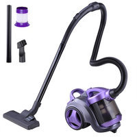 Yescomusa Oem Bagless Canister vacuum Cleaner 3L 1300W Multi Floor Cleaner Home Bedroom Purple