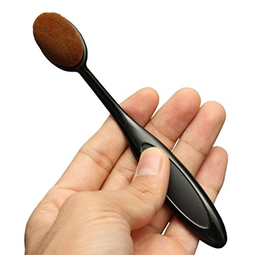 KINGMAS® Oval Makeup Brush Cosmetic Foundation Cream Powder Blush Makeup Tool