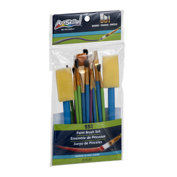 ArtSkills Paint Brush Set - 25 CT