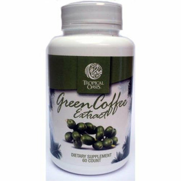 Tropical Oasis Green Coffee Extract 60 Caps