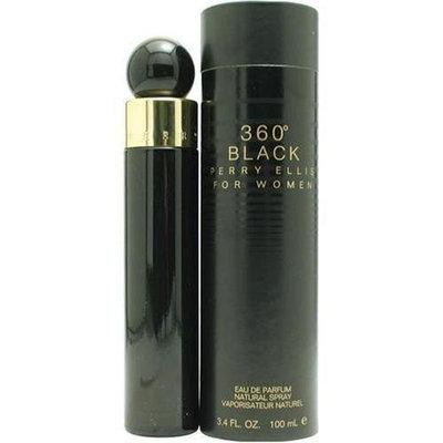 Perry Ellis 360 Black By Perry Ellis For Women. Eau De Parfum Spray 3.4 oz