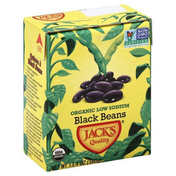 Jack's Jacks 2398 Quality Organic Ls Black Beans Case Of 16