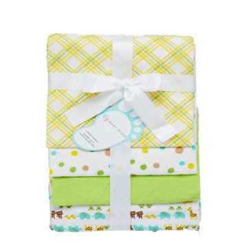 Baby Mode 3403 Receiving Blankets Neutral - Pack of 4