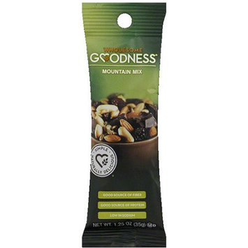 Wholesome Goodness Mountain Mix Trail Mix, 1.25 oz, (Pack of 12)