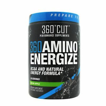 360Cut 360 Amino Energize, Green Apple, 30 Servings