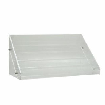 Salon Supply Store Large Acrylic Nail Polish Countertop Display Shelf, CLEAR, 300