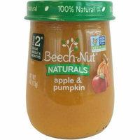 Beech-Nut Naturals Apple & Pumpkin Stage 2 Baby Food, 4.0 oz, (Pack of 10)