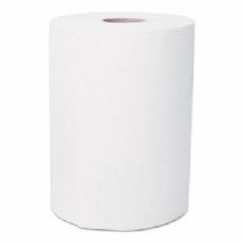 Hardwound Roll Towels, 1-Ply, White