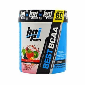 BPI Best BCAA Powder Fruit Punch 60 Servings