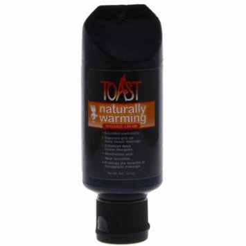 Toast Naurally Warming Massage Cream - 5oz