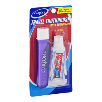 CareOne Travel Toothbrush with Toothpaste