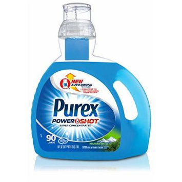 Purex Powershot Super Concentrated Laundry Detergent, Mountian Breeze, 45 Ounce (Pack of 6)