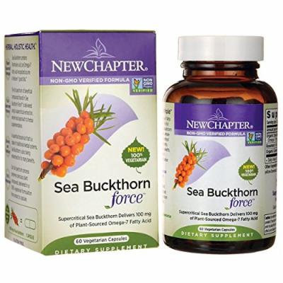 New Chapter Sea Buckthorn Force, 60 Count