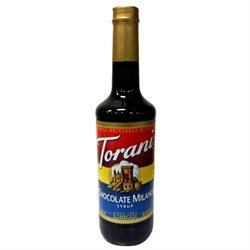 R. Torre & Company Torani Drink Syrups Chocolate Milano Drink Syrup, 750mL