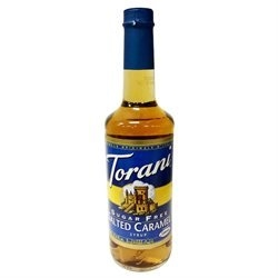 Torani Syrup Salted Caramel Sf 25.4Fo Pack Of 12