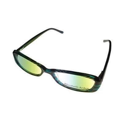 Elizabeth Arden Women's Rectangle Black Plastic Eyewear Frame 1061 1