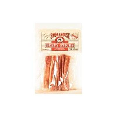 Smokehouse Brand Dog Treat Smokehouse Pet Products Medium Pizzle Stix Dog Treat (6-Pack)