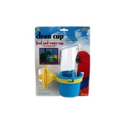 Jw Pet Company Inc JW Pet Clean Cup Feed and Water Cup Large